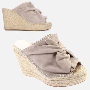 Kenneth Cole Odele Suede Espadrille Wedge heels